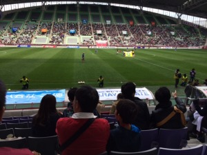 ヴィッセル神戸の試合を見てきました。