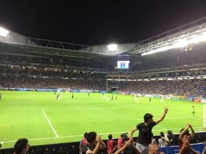 吹田スタジアムへ行ってきました。